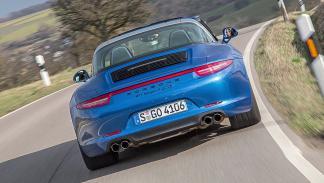 Prueba: Porsche 911 Targa GTS zaga