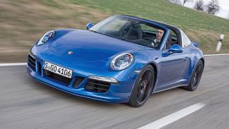 Prueba: Porsche 911 Targa GTS dinámica