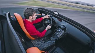 Prueba: Bugatti Veyron 16.4 Grand Sport Vitesse interior conductor