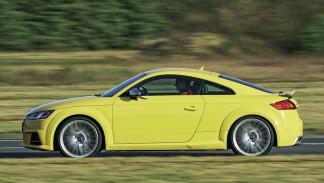 Audi TTS lateral