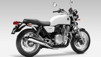 La Honda CB1100 EX estrena cambio de seis marchas