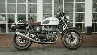 Motor de 865 cc para la nueva Triumph Thruxton Ace