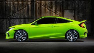 Honda Civic Concept perfil