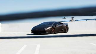 Lamborghini Huracan de GMG Racing de lejos