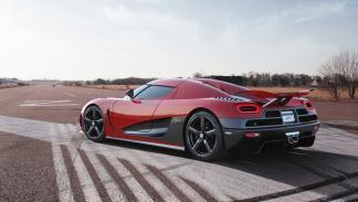 Koenigsegg Agera R 5.0 V8 trasera