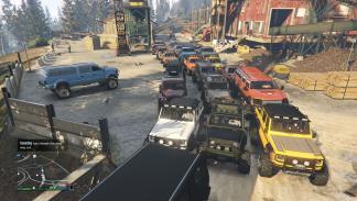 Vehículos 4x4 para el tour GTA Online