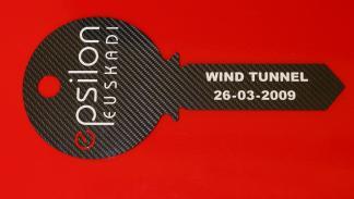 El túnel de viento espilon se terminó en 2009
