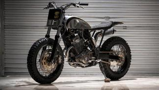Honda XR400R by BCR Project Bikes: uso masivo de aluminio