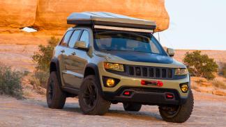 Jeep Grand Cherokee Overlander delantera