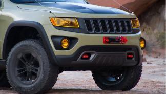 Jeep Grand Cherokee Overlander detalle