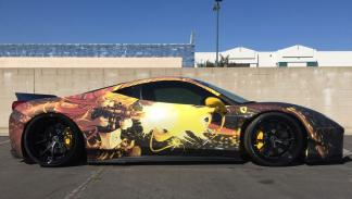 Ferrari 458 LB Performance Team Anime Gumball
