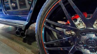 Mercedes G65 AMG Brabus rueda