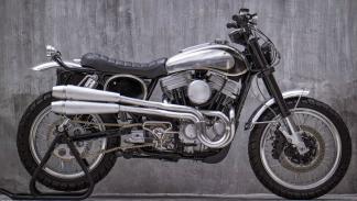 Una pieza única: la Harley-Davidson Sportster American Scrambler