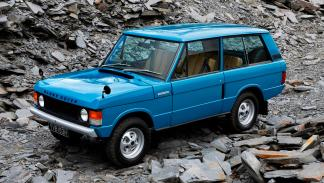 Land Rover Heritage perfil
