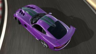 Dodge Viper GTC aérea