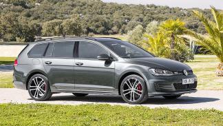 Prueba: Volkswagen Golf GTD Variant lateral