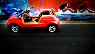 Fiat 500C Castagna Milano