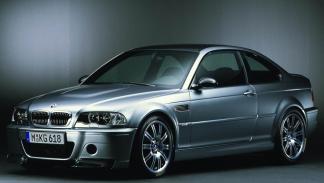BMW M3 E46 CSL tres cuartos delanteros
