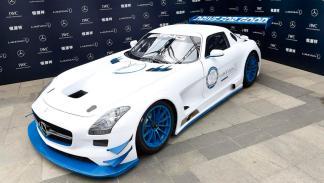 Mercedes SLS AMG GT3 solidario frontal