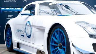 Mercedes SLS AMG GT3 solidario ruedas