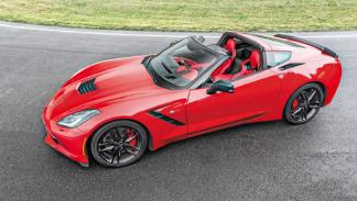 Corvette C7 Stingray tres cuartos lateral