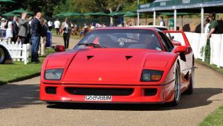 Ferrari F40 delantera