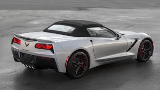 Chevrolet Corvette Stingray 2016 tres cuartos trasero