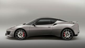 Lotus Evora 400 lateral