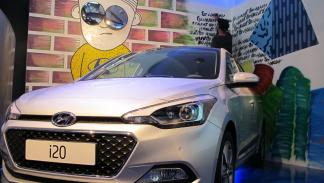 Hyundai i20 Street Art