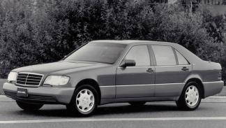 Mercedes Clase S W140 lateral