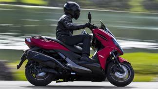 El Kymco K-XCT ABS es otro de los scooter cedidos por la firma taiwanesa