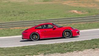 Comparativa GTS: 911 lateral