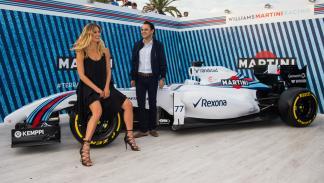 Bar Refaeli y Felipe Massa