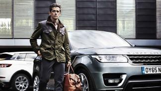 Alta calidad en la colección Barbour para Land Rover 2015