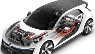 Volkswagen Golf GTE Sport motor