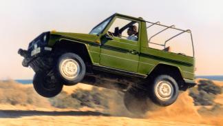Mercedes Clase G lateral salto