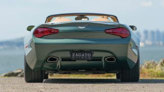 Aston Martin DB9 Spyder Zagato trasera