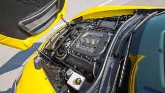 Chevrolet Corvette Z06 detalle motor