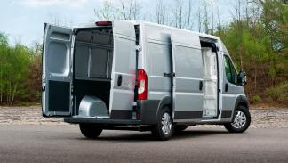 Fiat Ducato Natural Power trasera