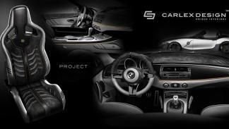 BMW Z4 Rampant interior