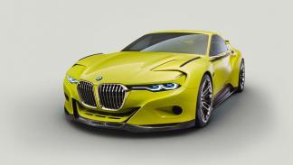 BMW 3.0 CSL Hommage tres cuartos delanteros