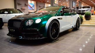 Mansory Continental GT Race frontal