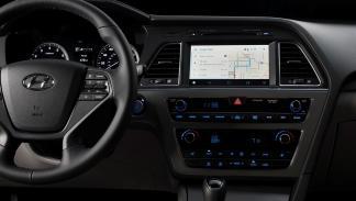 El Android Auto es compatible con el sistema de navegación del Hyundai Sonata.
