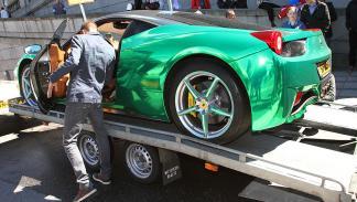 Los coches más espectaculares de la Gumball 300 de este año mapa Ferrari
