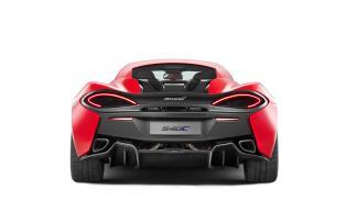 McLaren 540C trasera