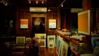 Exposición de arte en Meeting Room Art Cafe