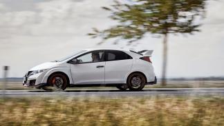 Honda Civic type r lateral