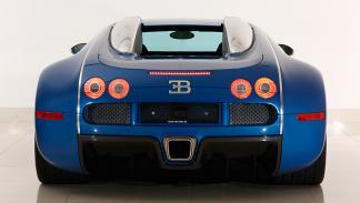 Bugatti Veyron Bleu Centenaire trasera