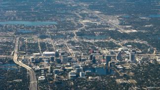 Vista aérea de Orlando