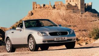 Mercedes SLK delantera